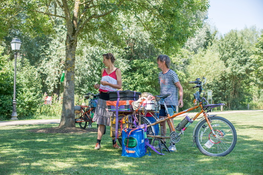 Nomad bike theatre