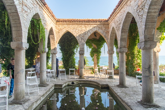 The baths in Balchik Palace