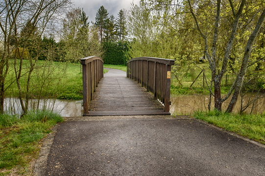 Bridge in Parc Lentz