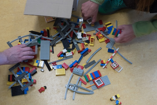 Playing with LEGO