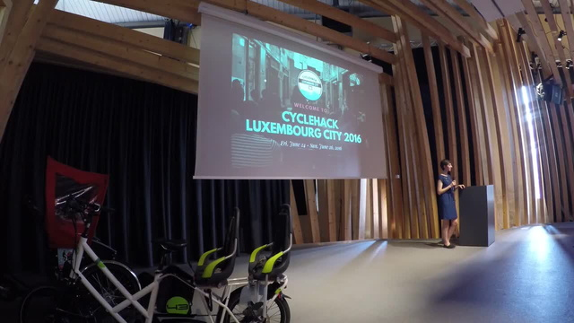 Introduction talk to Cyclehack Luxembourg City 2016