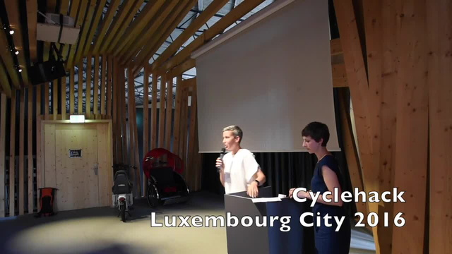 Sam Tanson Cyclehacklux talk