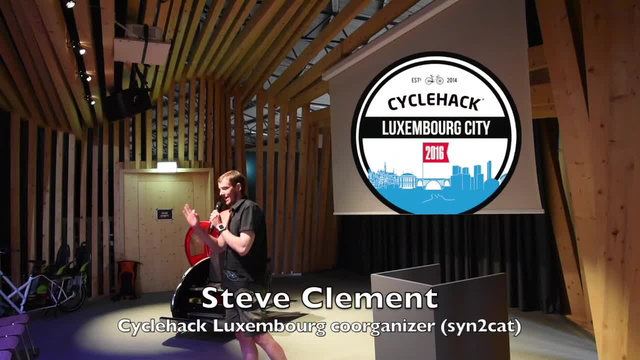 Steve Clement - Closing talk Cyclehack Luxembourg City 2016