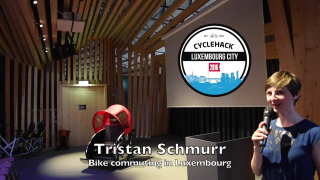 Tristan Schmurr - Daily bike commute in Luxembourg - Cyclehacklux talk
