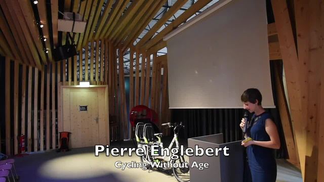 Pierre Engelbert - Cycling Without Age - Cyclehacklux talk