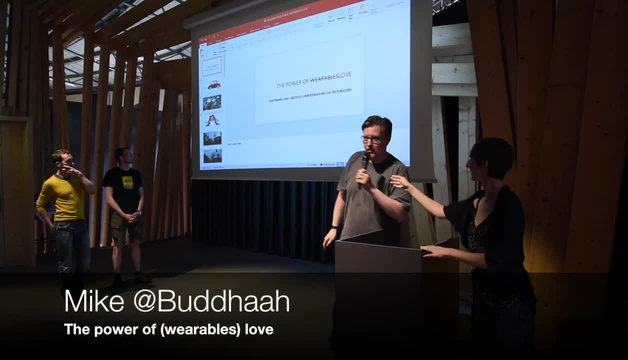 Project: Buddhaah, Jeremysintes & SteveClement - The power of (wearables) love