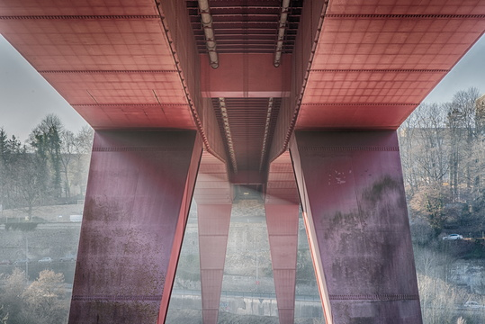 Under the Red Bridge