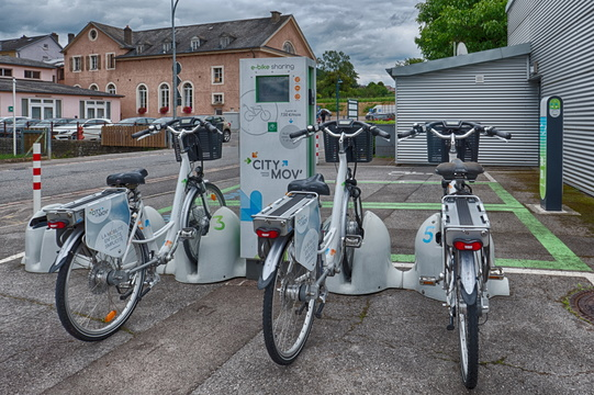 City Mov' e-bike sharing