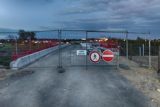 Another non-diverted cycleway closure in Mamer