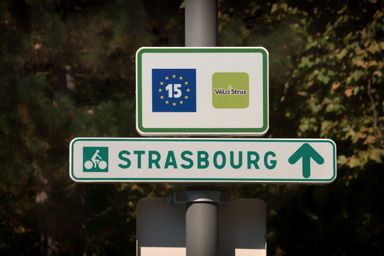 Strasbourg is up