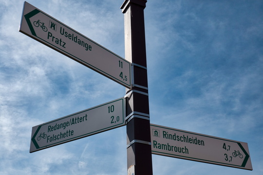 Cycling directions in Eschette