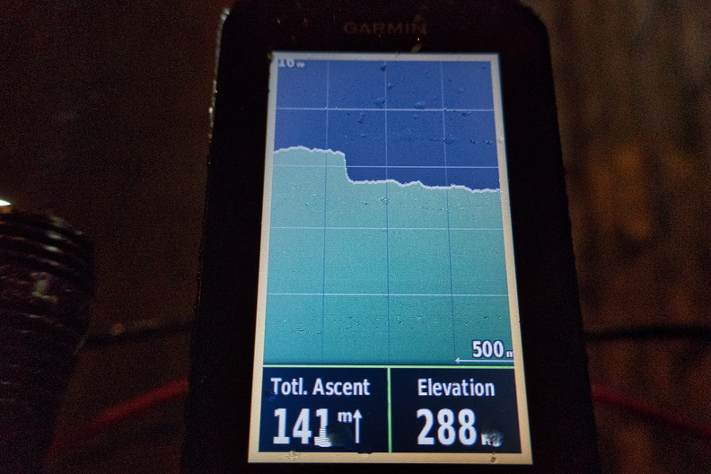 GPS altimeter confused