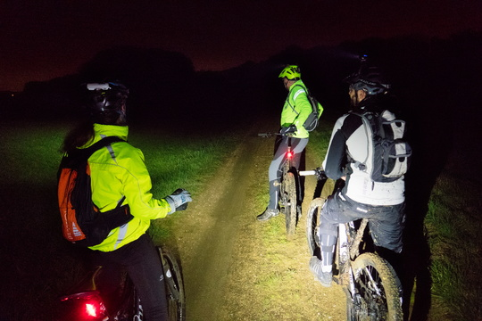 Night MTB ride