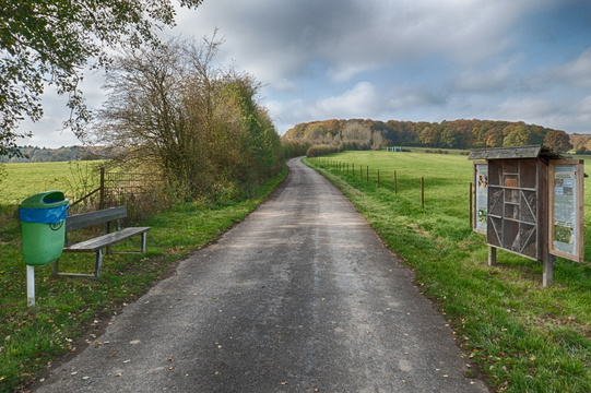 Cycling route from Schouweiler to PC 12