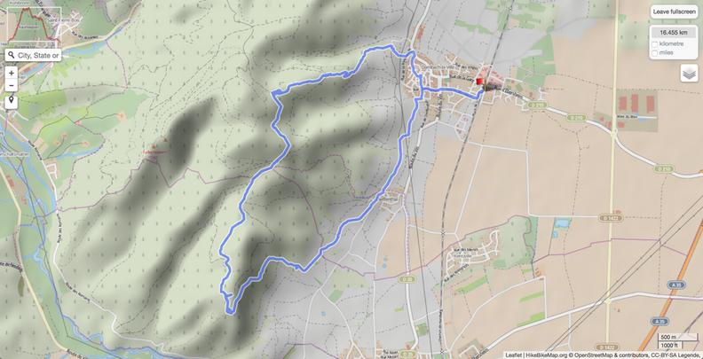 Dambach-la-Ville hike