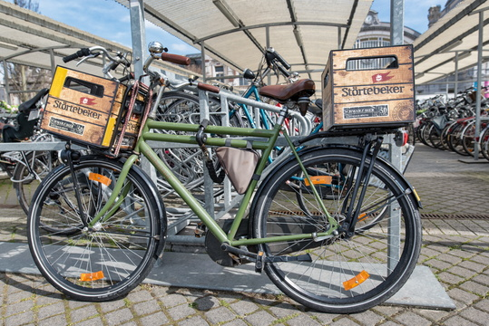 Bike paniers in Oostende