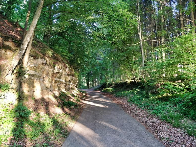 Piste cyclable de l'Attert near Eischen