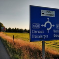 The Northernmost border between Luxembourg and Belgium
