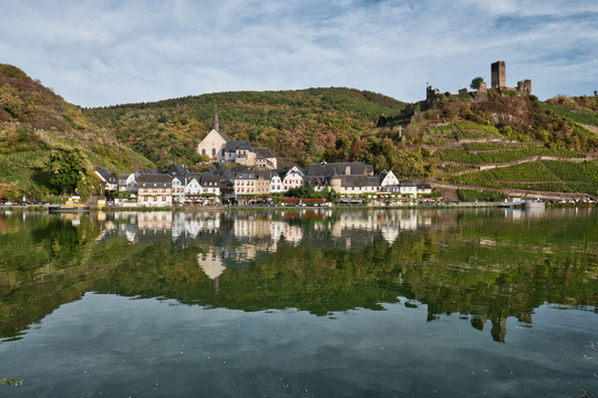 The village of Beilstein and its castle