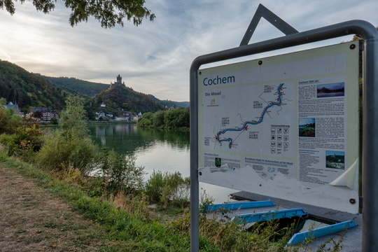Outside Cochem