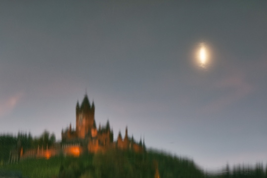 Cochem castle reflection