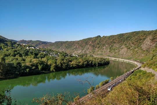 Rail in the Moselle valley