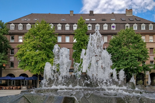 Fountain in Koblenz