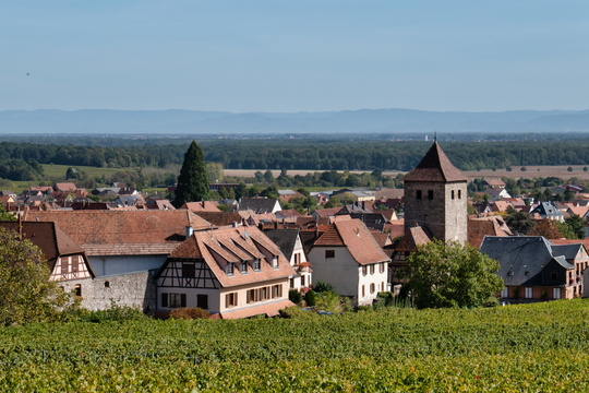 The village of Dambach-la-Ville