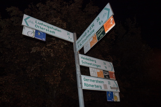 Cycling directions in Speyer