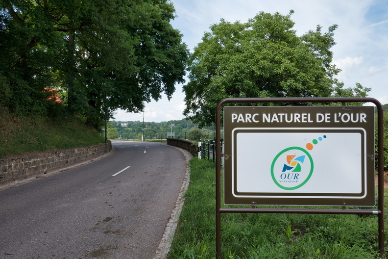 Parc Naturel de l'Our sign