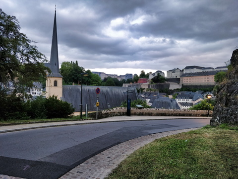PC 1 in old Quarters & Fortifications, Luxembourg City