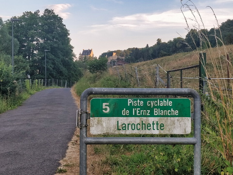 Entering Larochette