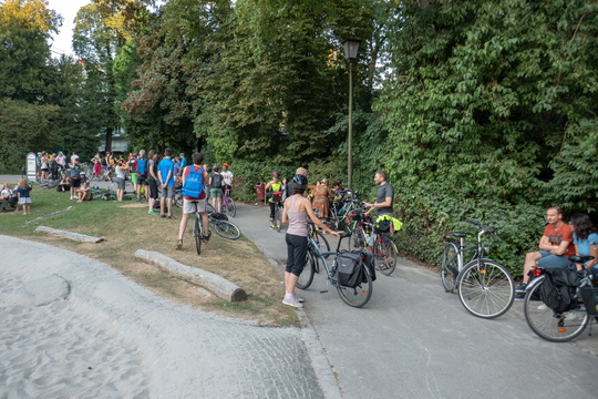 Cycling meetup