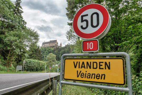 Vianden and its castle