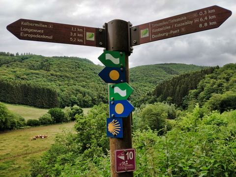 Hiking directions near Tintesmillen