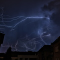 A night thunderstorm