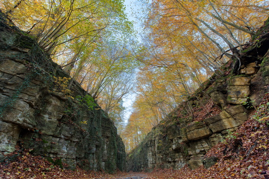 The Grand (Duchy's) Canyon in autumn