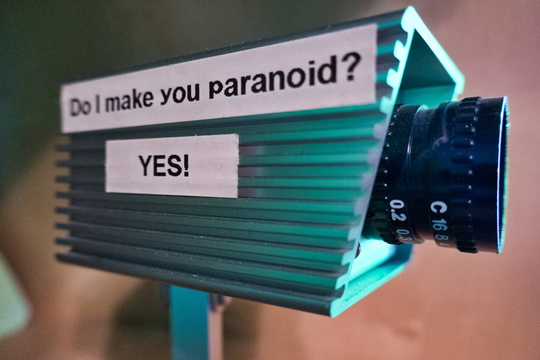 Do I make you paranoid?