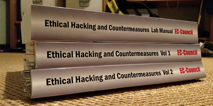Ethical Hacking and Countermeasures study books