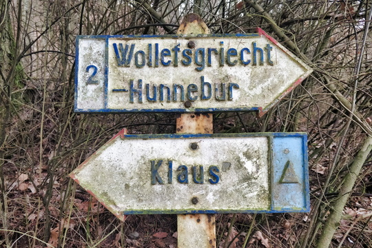 Another old fashion sign near Mersch