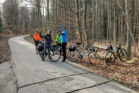 Spontaneous Saturday group ride