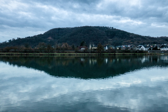 Reflection on the Moselle