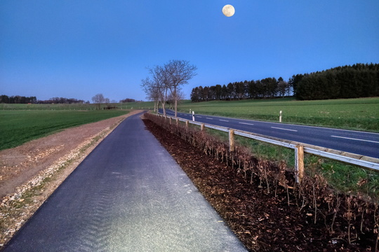 New cycleway to Keispelt