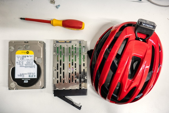 IT repair by bike