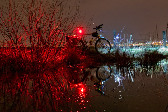 Bike reflection