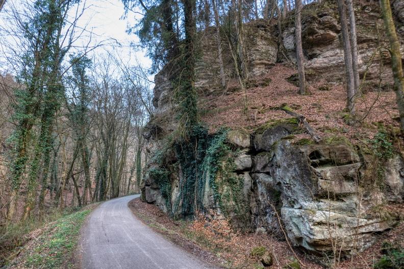 Piste cyclable d'Echternach in Mullerthal