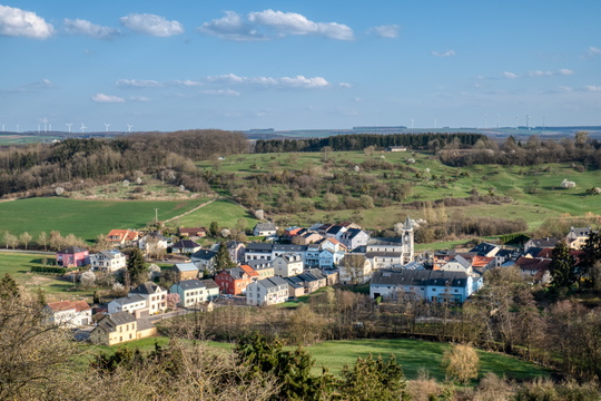 The village of Lenningen