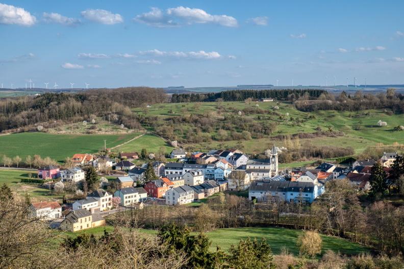 The village of Lenningen