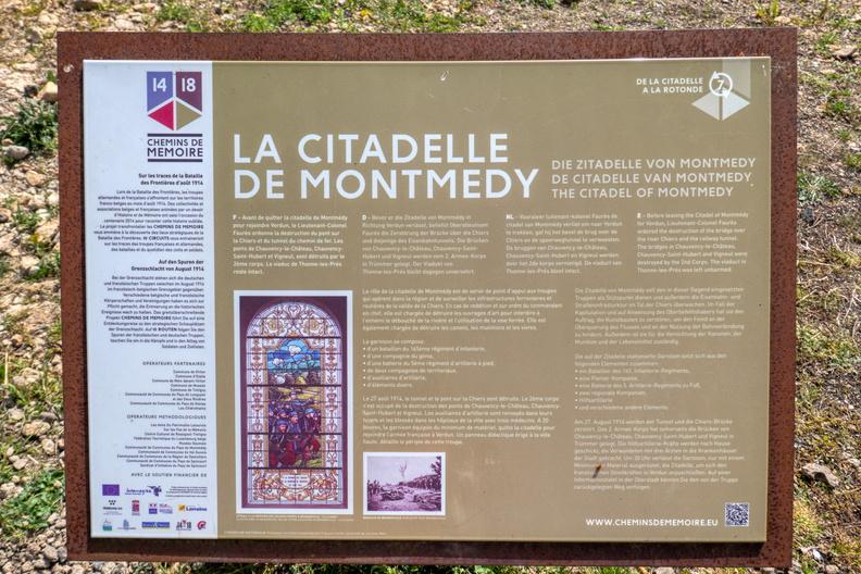 Montmédy information board