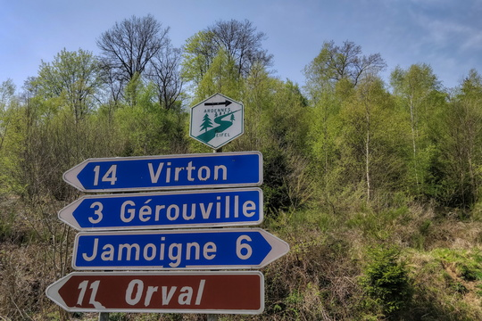 On the way to Orval